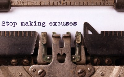 "What is your ""excuse"" this year?"